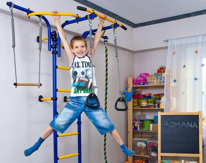 шведская стенка для маленьких детей
