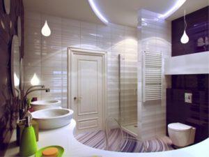 Дизайн туалетной комнаты малого размера