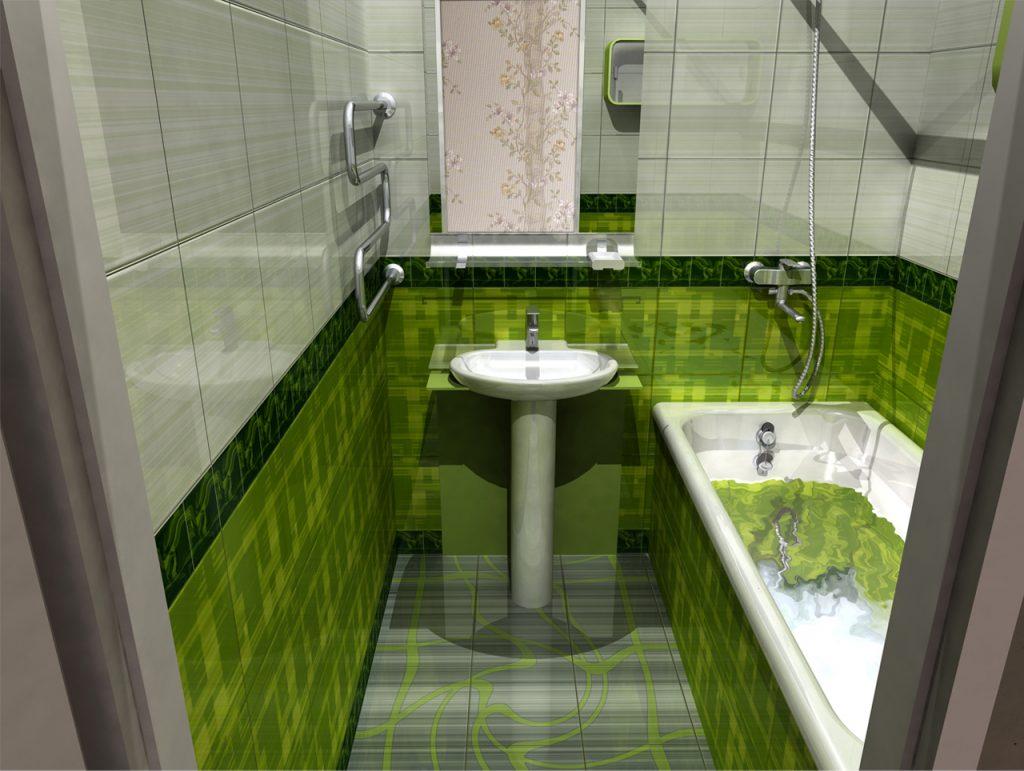 маленькая ванная фото