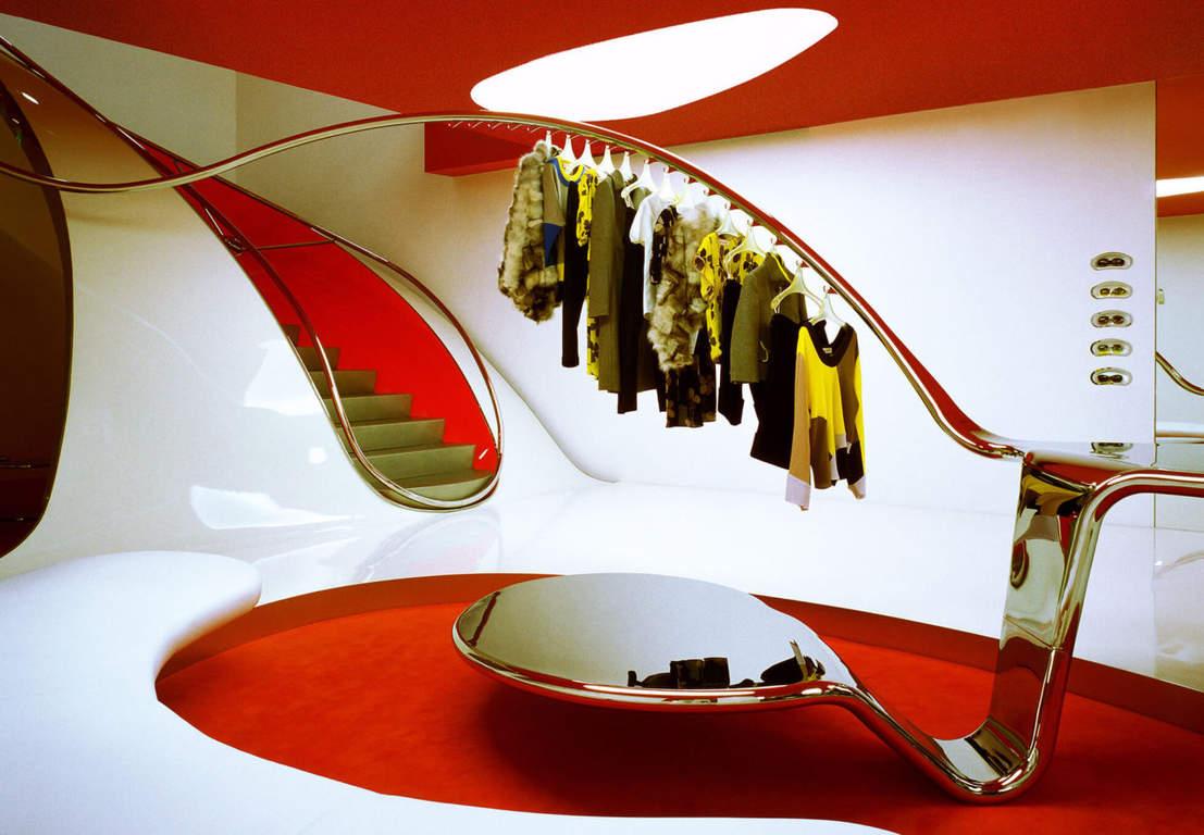 Вариант нестандартного украшения дизайна интерьера