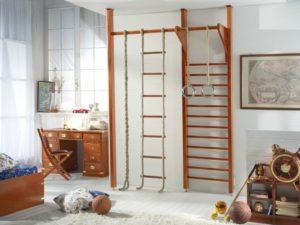 деревянная шведская стенка