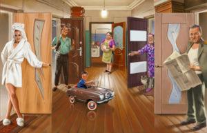 О каких квартирах мечтали люди в 60-х годах
