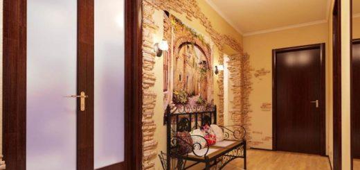 шикарный дизайн коридора в квартире