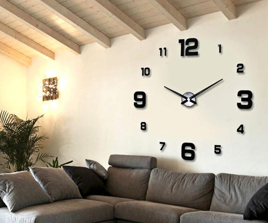 Фишки декора интерьера 3Д часы