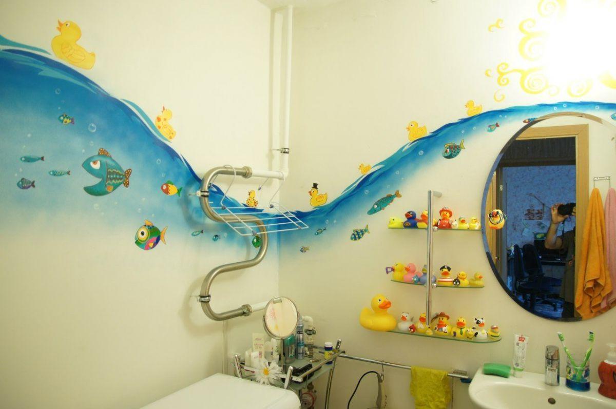 Наклейки в ванную