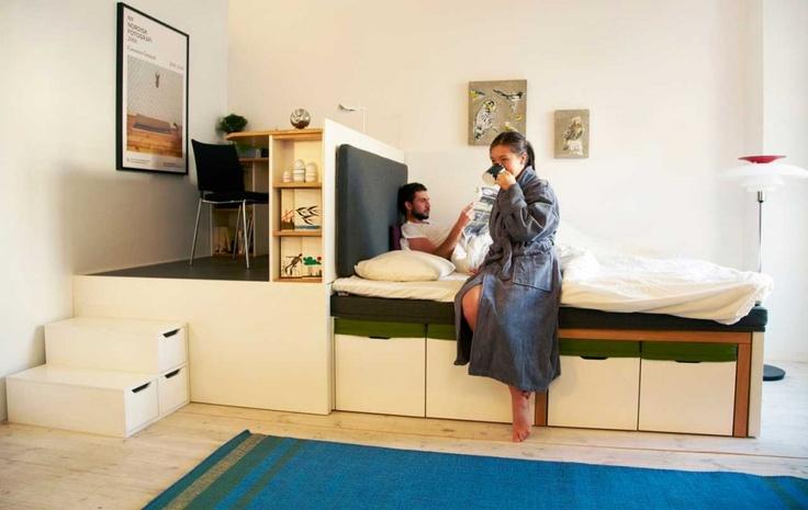 Компактная мебель для интерьера маленьких квартир