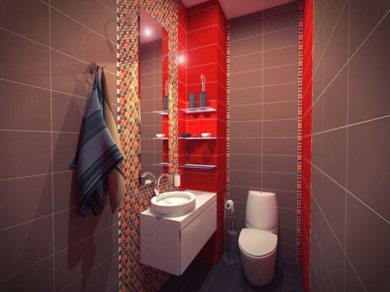 идея дизайна туалетной комнаты