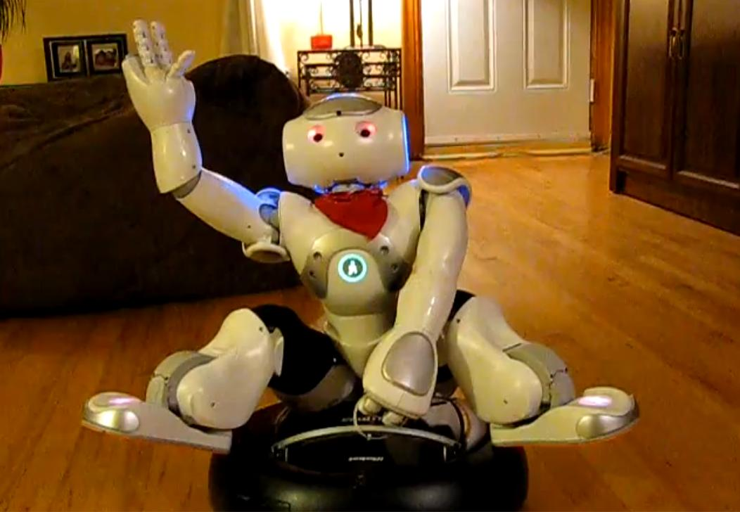 Современный робот-пылесос Samsung