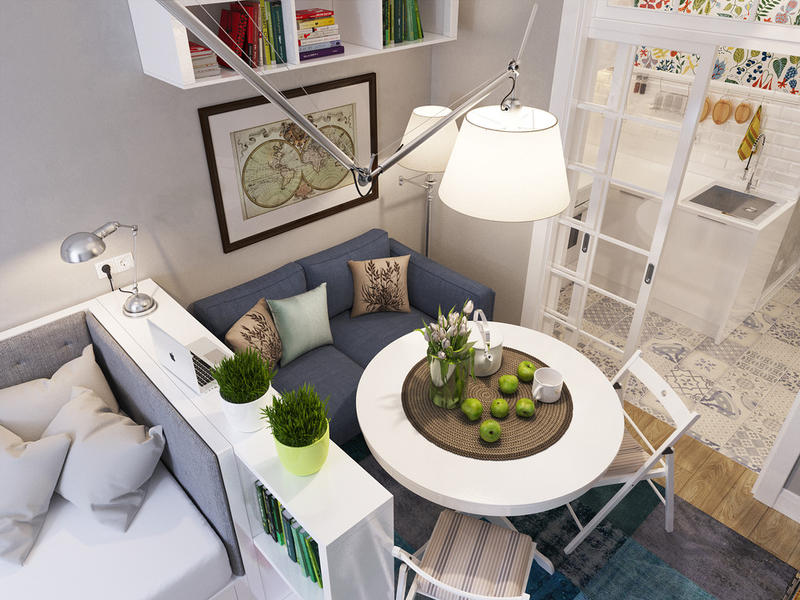 Как обустроить интерьер маленькой квартиры