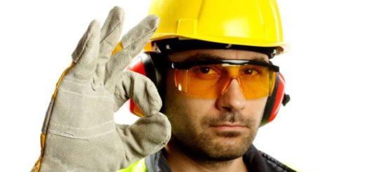 Средства защиты перчатки спилковые