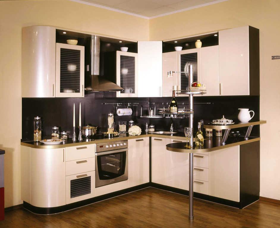 Угловая модель кухни