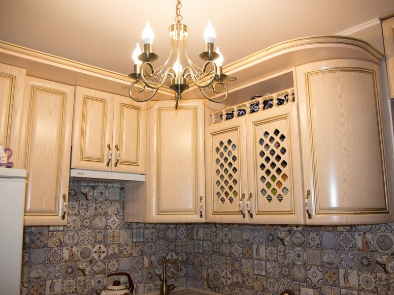 Уютный свет на кухне