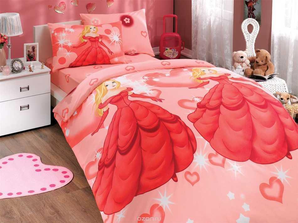 Как выбрать постельное белье для девочек