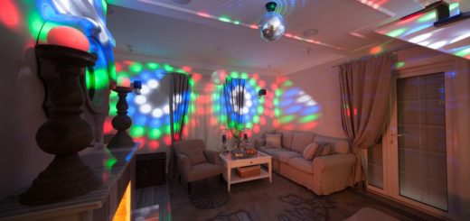 диско интерьер квартиры