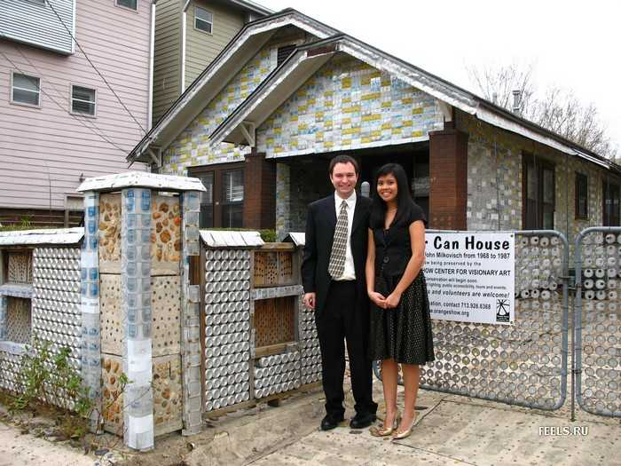 Нетрадиционные материалы для строительства дома