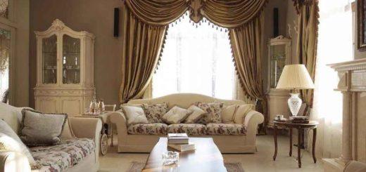 Стили штор в дизайне интерьера