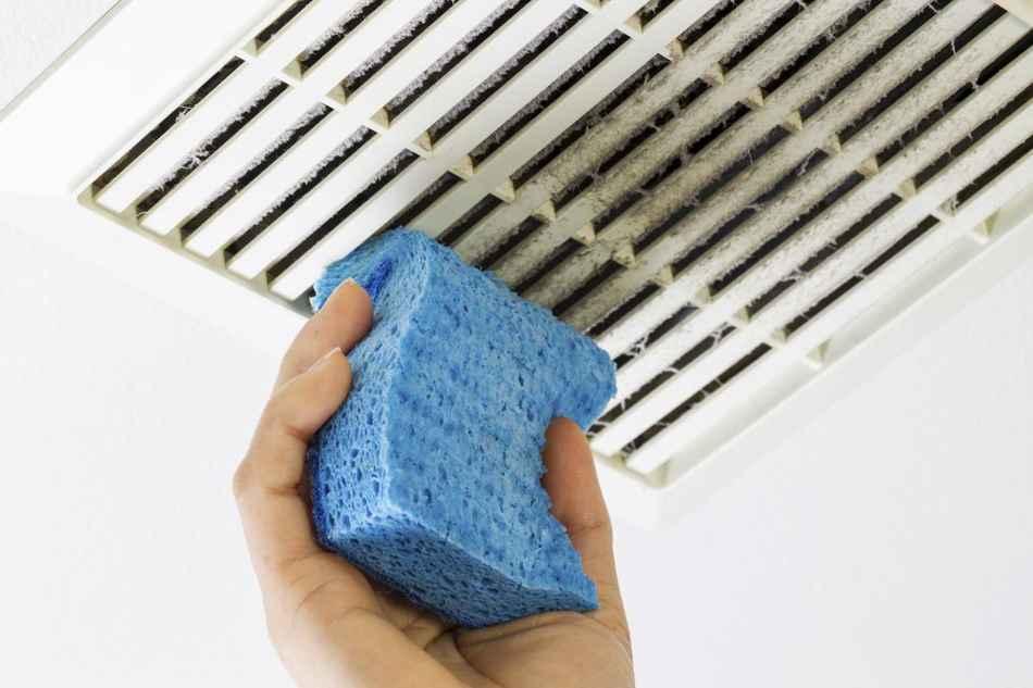 Самые грязные вещи в доме вентиляционная решётка