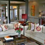 декоративный интерьер комнаты