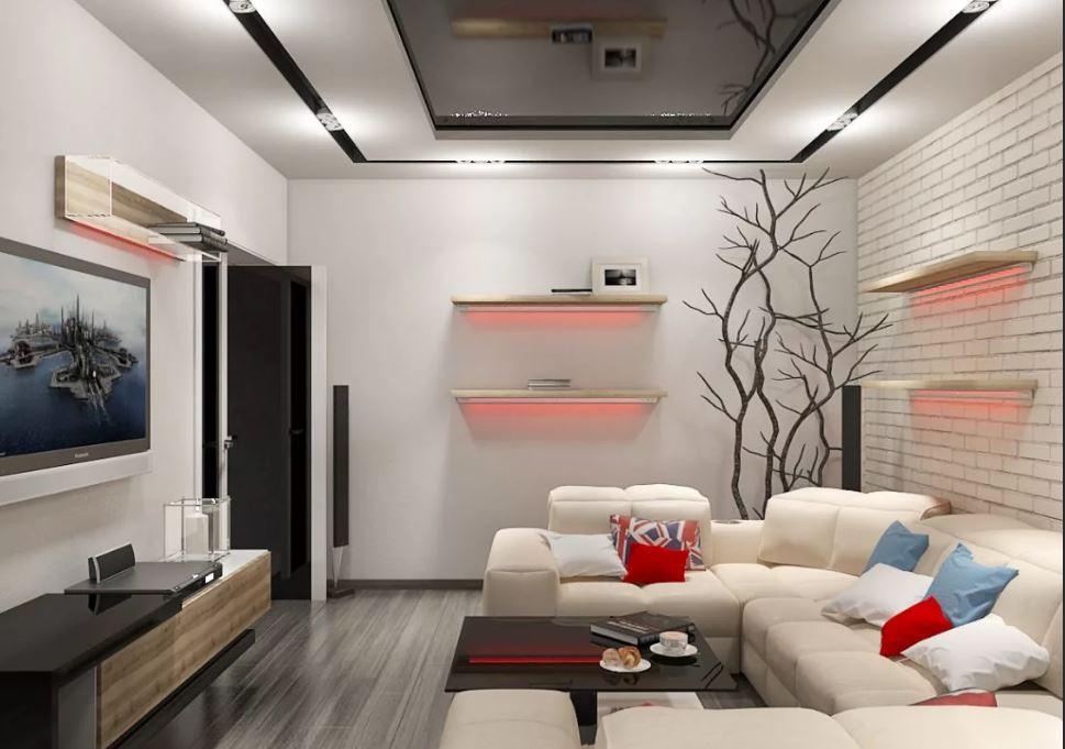 Как зрительно увеличить маленькую комнату