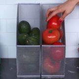 Лотки для бумаг для хранения продуктов в маленькой квартире