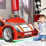 Кровать-машинка Мини: оборудуем детскую для мальчика