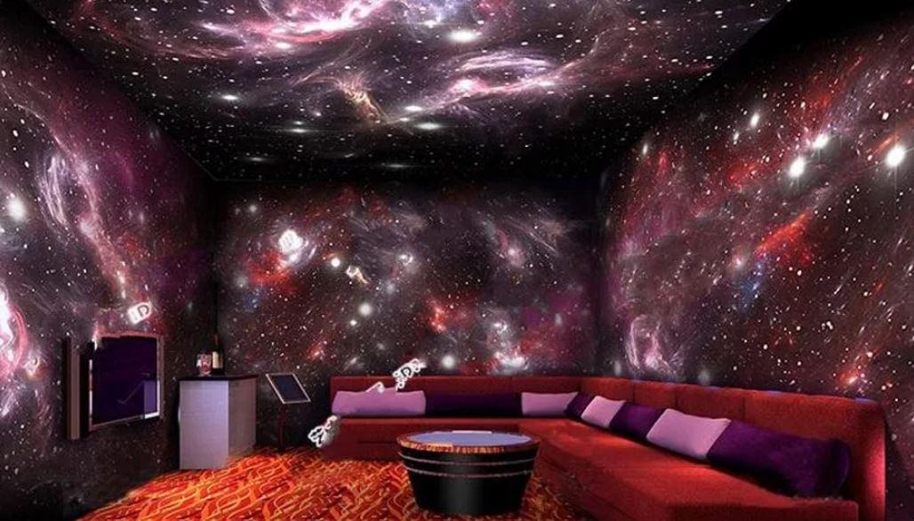 звёздное небо в интерьере
