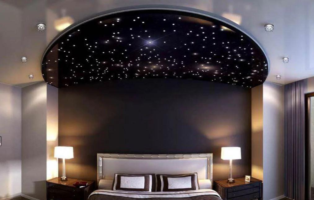 Звёздное небо в дизайне интерьера