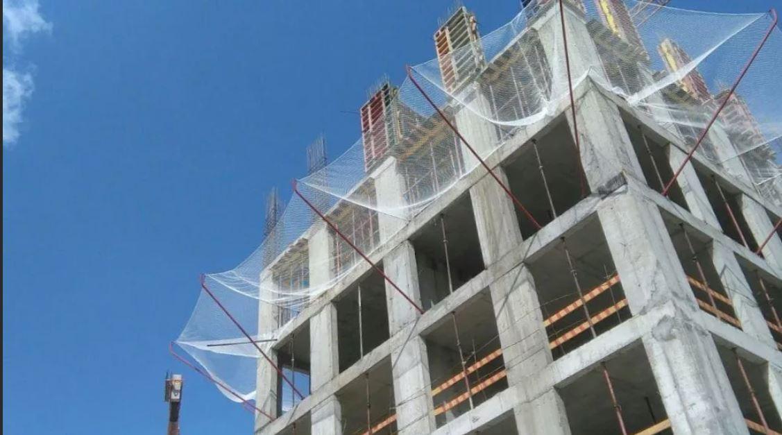 защитно улавливающие сети в строительстве