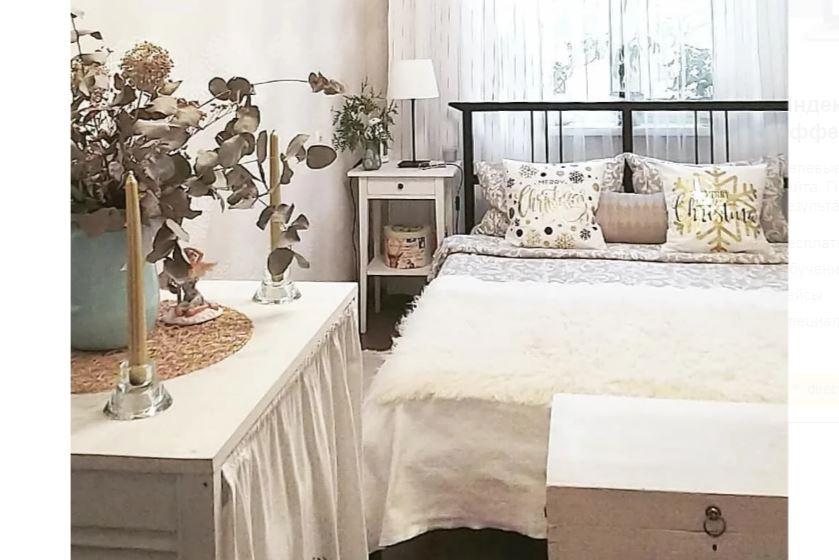 Интерьер маленькой спальни 9 кв м