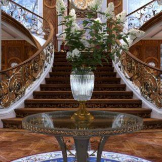 шикарные лестницы в ландшафтном дизайне