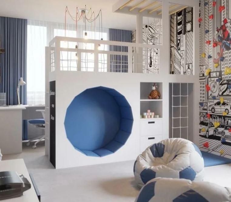 Детская комната для мальчика: Спорт