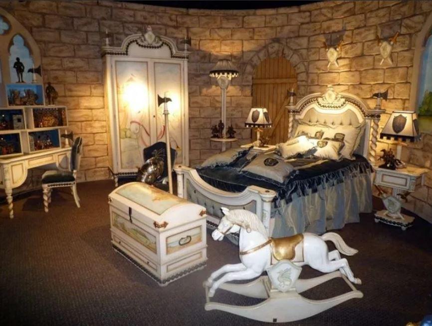 Детская комната для мальчика: Рыцарская Эпоха