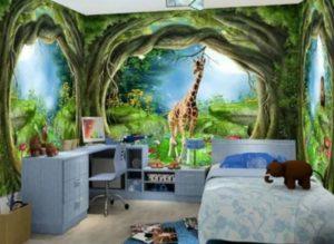 Детская комната для мальчика: Домик на Дереве