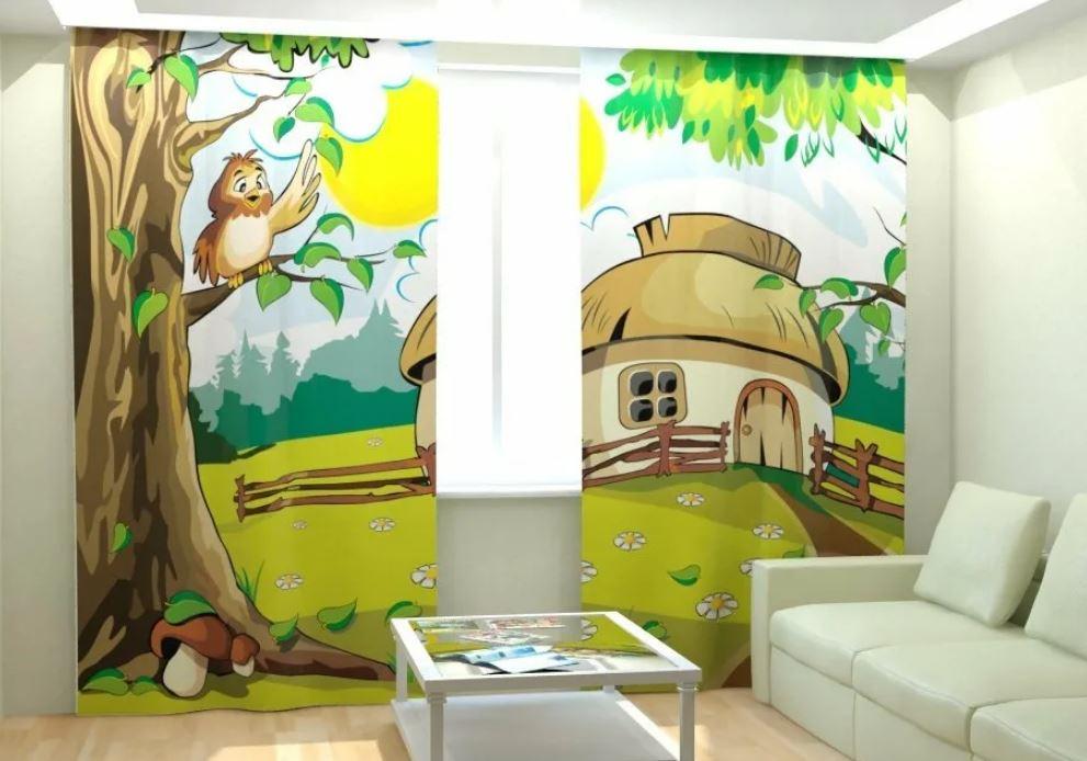 Шторы в детскую комнату: как выбрать