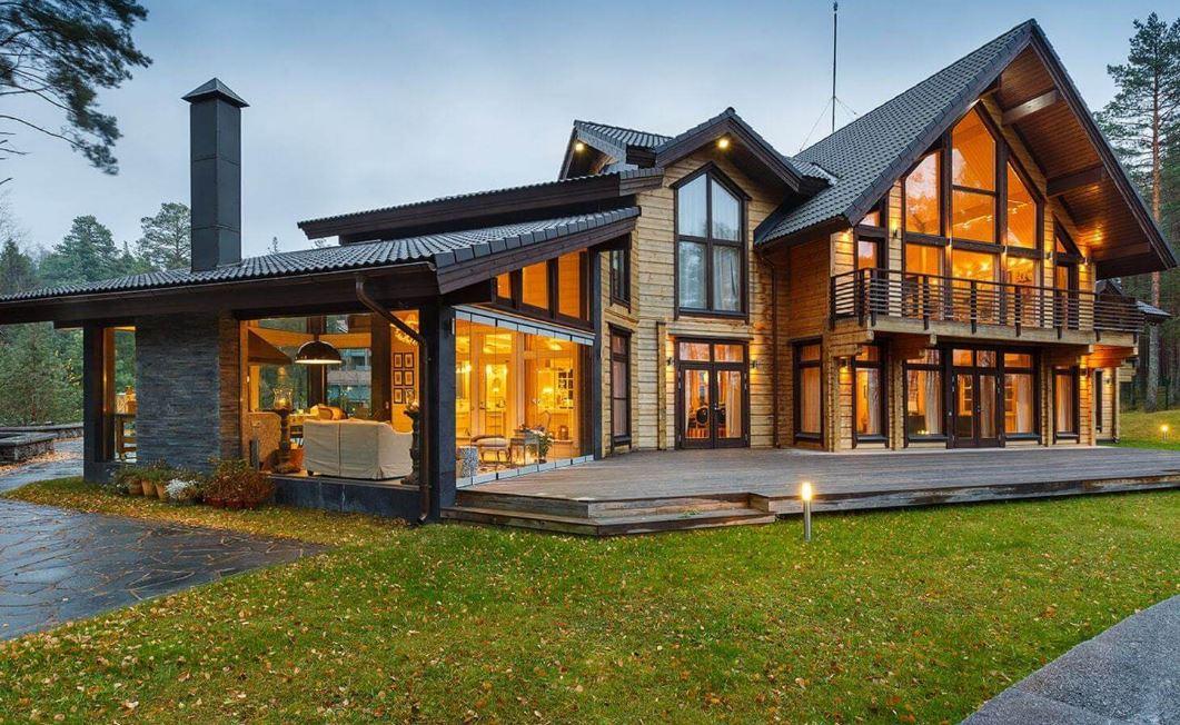 Что влияет на стоимость дома из клееного бруса